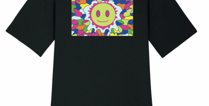 Sun On My Back- T-Shirt Dress