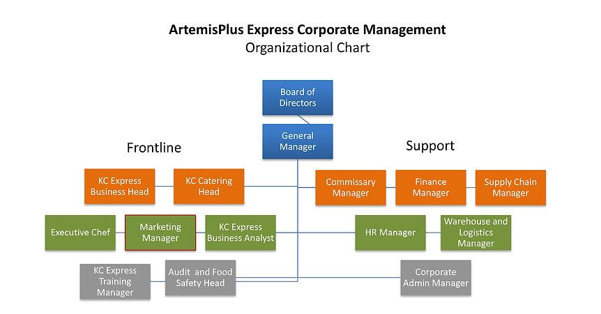 ARTEMISPLUS EXPRESS CORPORATE ORGANIZATI