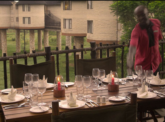 Dining at Sarova Salt Lick.jpg