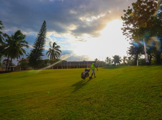 Nyeli Golf Club Sunset