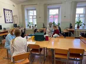 В техникуме проведена добровольная вакцинация студентов и сотрудников