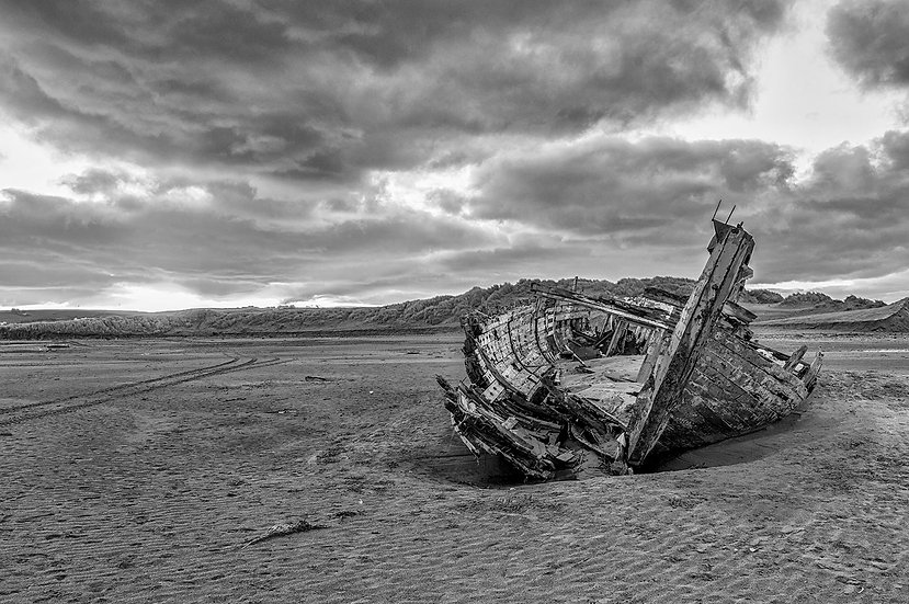 Crow Point boat wreck