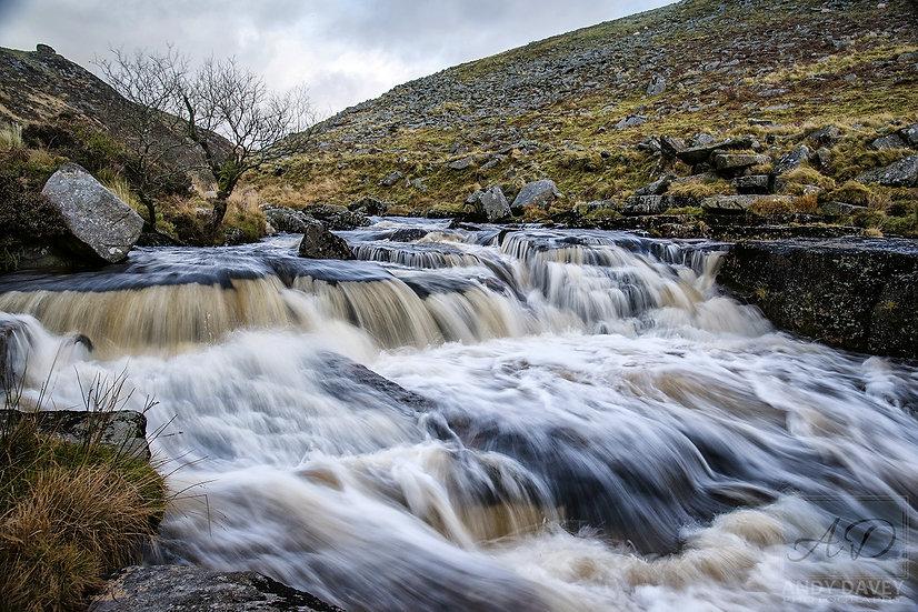 Tavy Cleave Waterfall Dartmoor