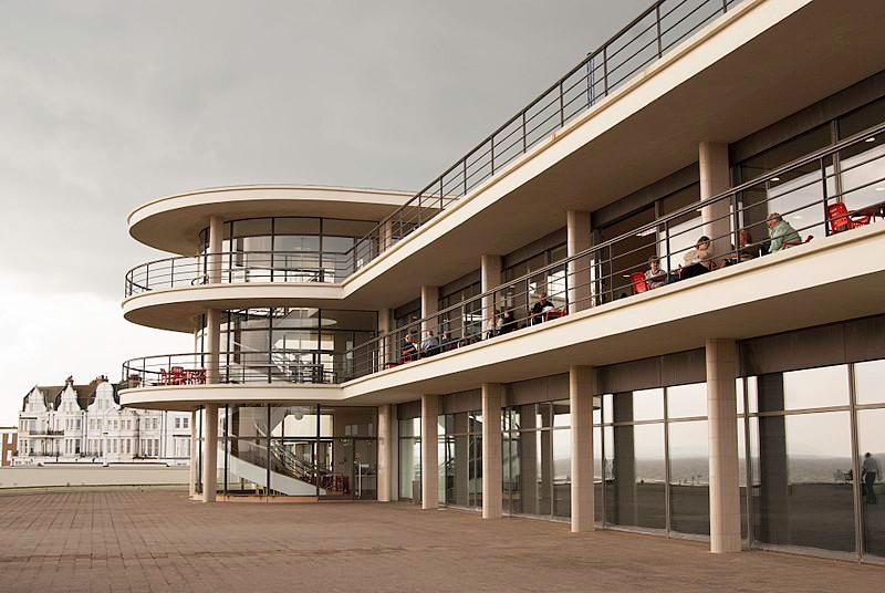 De La Warr Pavilion Art Deco building on Bexhill seafront – third prize. Credit: Oliver Tookey