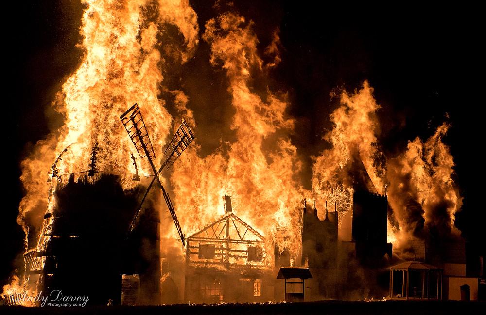 Great Torrington Trumpton Bonfire 2015