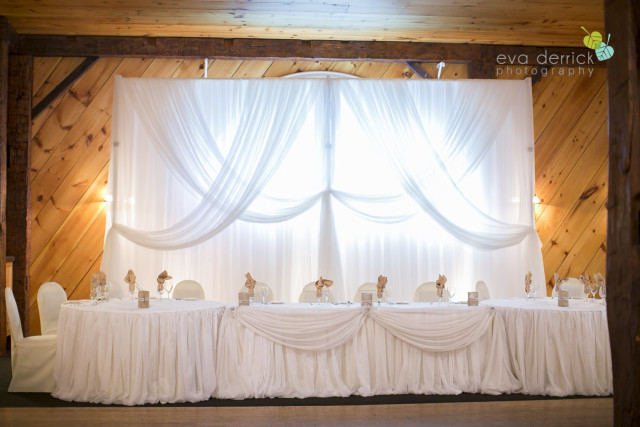 Backdrop, Head Table
