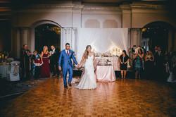 bride and groom backdrop