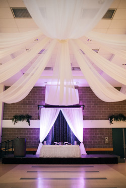 Ceiling Draping