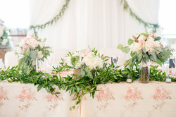 Head table Lace Overlay