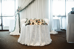 Sweet Heart Table and Backdrop