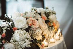 Head Table Flowers