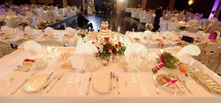 Head and cake Table