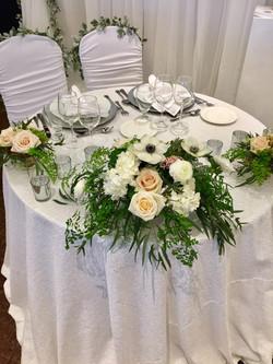 Head table decor