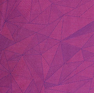 Pink and purple electric topography