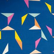 Flying Shapes - Blue