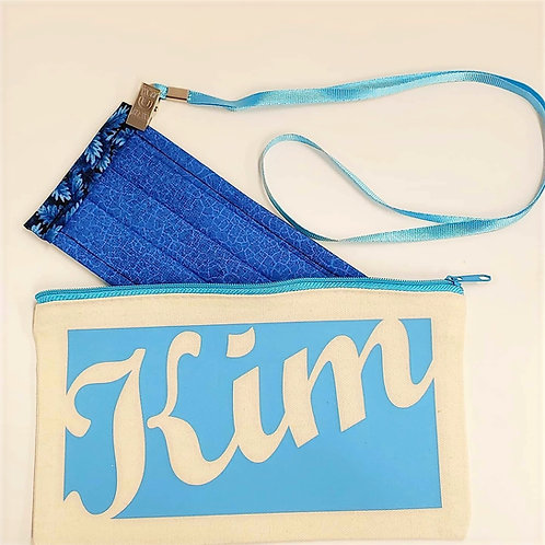 Personalized Mask Bag