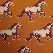 Horses on Brown