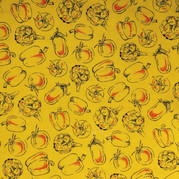 Cookbook veggies yellow with red