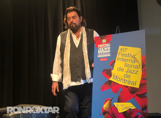 Alan Parsons Magical Press conference and final Secret tour date at Montreal Jazz Fest 2019