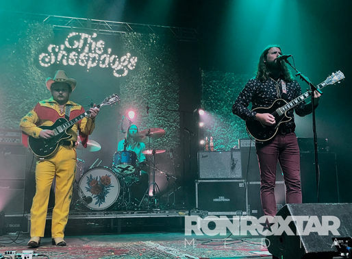 The Sheepdogs and Damn Truth final tour date together.