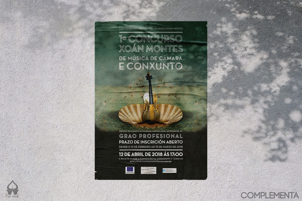 Cartel concurso Xoan Montes