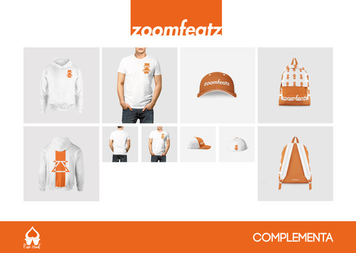 Branding Zoomfeatz por Complementa
