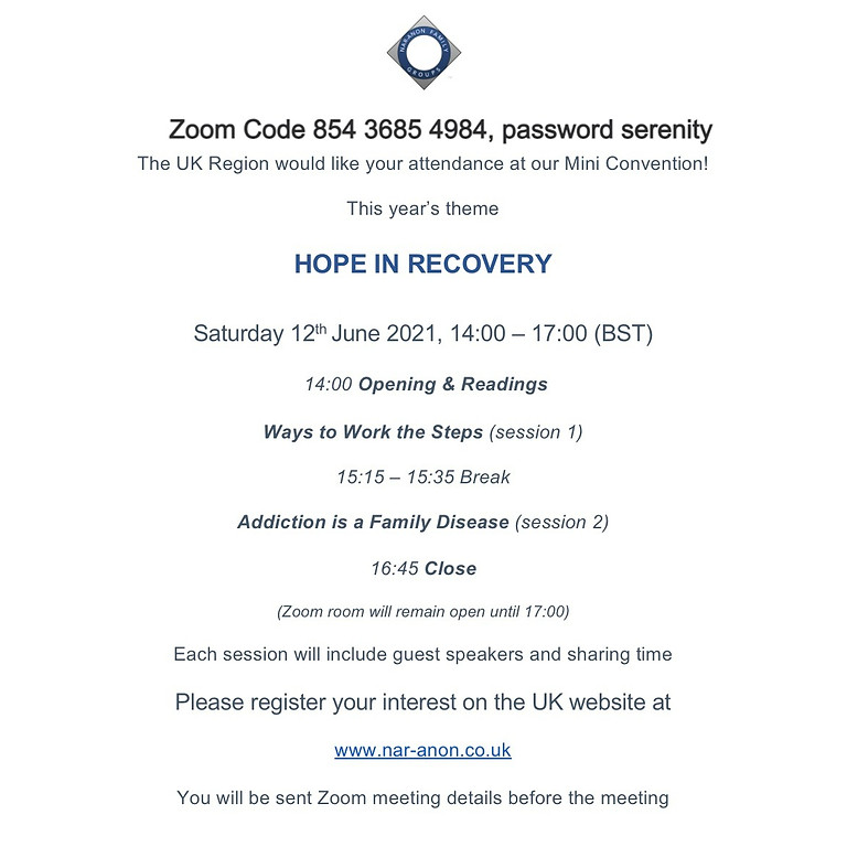 Hope in Recovery