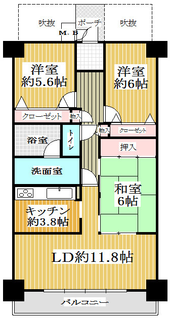 サンロード弐番館6階604