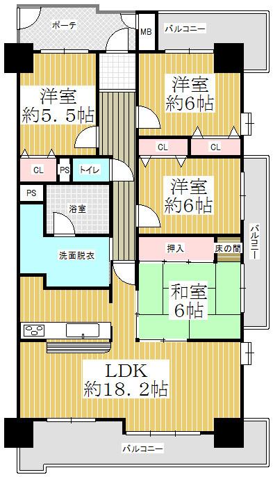 【サンロード】弐番館307号室【880万円】.jpg