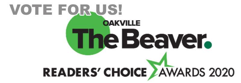 oakville readers choice awards