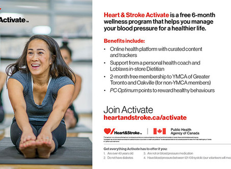Activate - Heart and Stroke Program