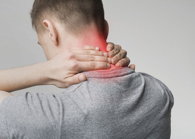 neck pain inflammation