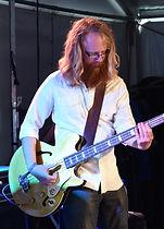 Matt Nightingale bass player roweth band