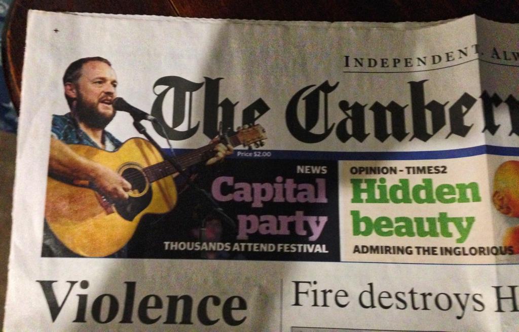 Jason Roweth Canberra Times