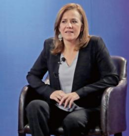 """Margarita Zavala dice """"Soy católica""""; y así reitera su oposición al matrimonio igualitario"""