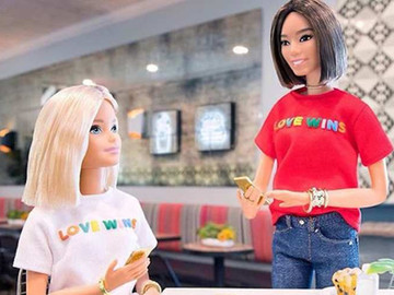 Barbie apoya el matrimonio igualitario