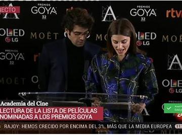 La primavera Rosa en México Nominada a los Premios Goya