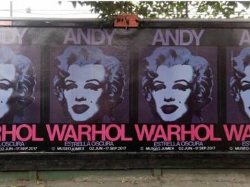 Warhol y su Lluvia de Estrellas Oscuras