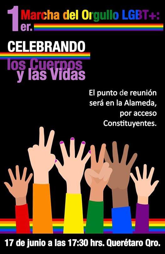 Marcha LGBT Queretaro Banner