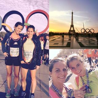 PARIS VERSAILLES 16,8km avec une petite côte bien sympa : la côte des Gardes ;)  we did it!