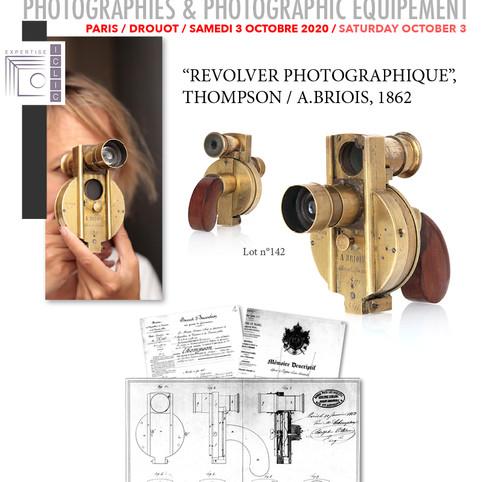 Vente Photographies & Matériel Photographique. Samedi 3 octobre 2020 à Drouot Paris. Auction, Saturday October 3, Drouot Paris.