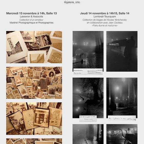 RDV les 13 & 14 Novembre 2019, Deux Ventes Photographies et Matériel Photographique à l'Hôtel des Ventes Drouot Paris.