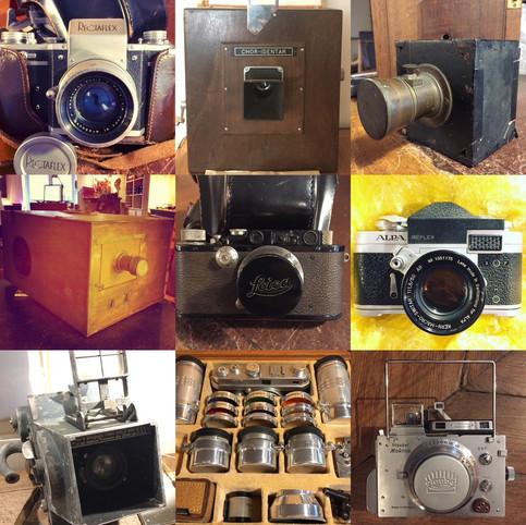 Vente de très importantes collections d'appareils photographiques, Samedi 5 Juin à 14h