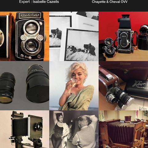 Vente de Photographies et de Matériel Photographique, le jeudi 28 novembre à 13h30 à Paris