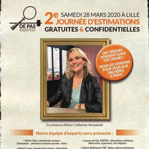 RDV le Samedi 28 Mars 2020 à Lille pour faire estimer et expertiser vos photographies, appareils photographiques et divers.