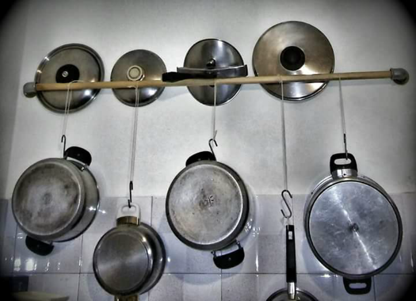 Kitchen Pans Holder