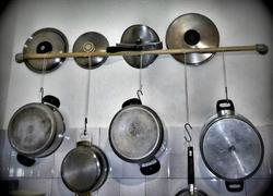Kitchen Pans Holder