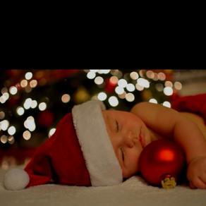Merry Christmas baby Χριστουγεννιάτικη διακόσμηση φιλική στα  παιδιά /toddler-friendly holiday décor