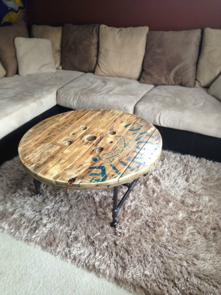 Old Spool Coffee Table 3