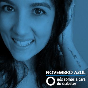 NOVEMBRO AZUL - Nós somos a cara do diabetes